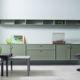SUDBROCK Möbel ARTAYO Sideboard Rahmenfront Solitär grün hängend