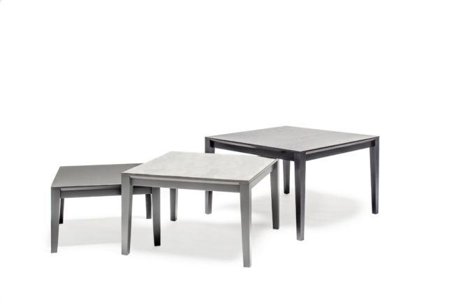 ARTAYO Tische SUDBROCK schwarz grau Beistelltisch Couchtisch