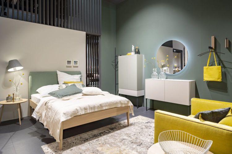 Schlafzimmer Modern Sage