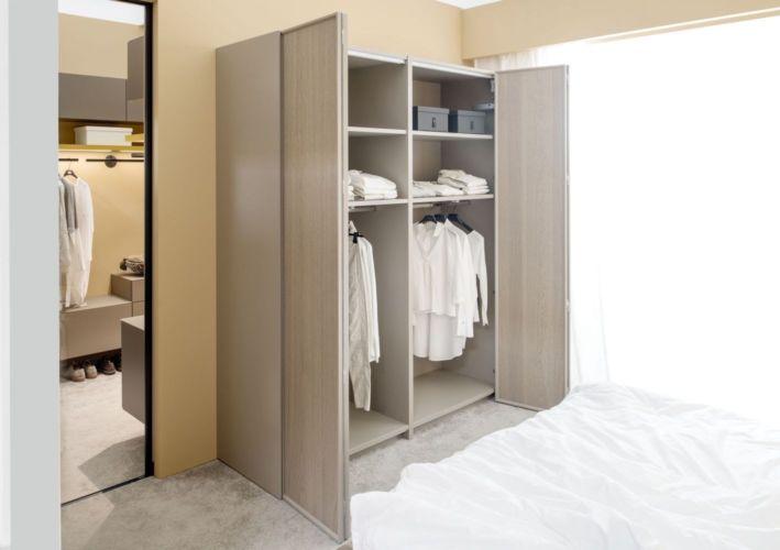 Kleiderschrank Schiebetüren Schlafzimmer Schrank geschlossener Kleiderschrank Sudbrock Artayo Schlafen Falttüren