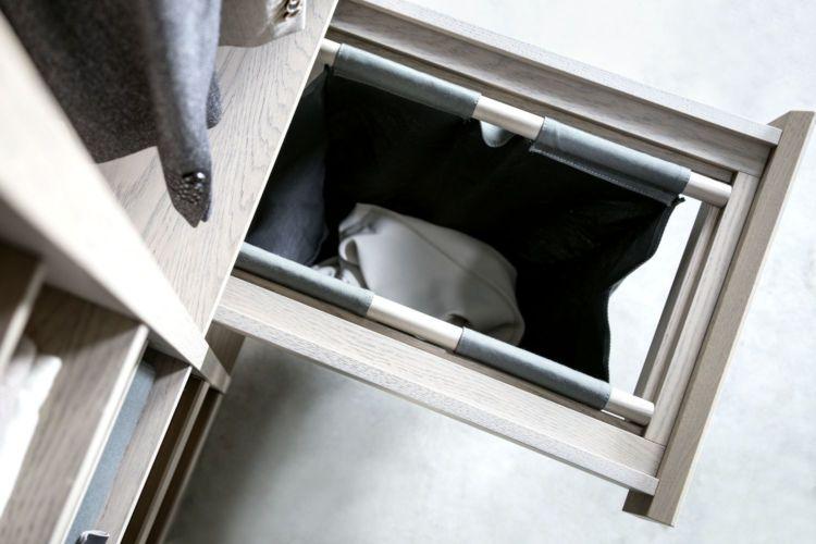 Kleiderschrank Ankleide Fokus Schrank individuelle Einteilung holz alurahmentüren offener Kleiderschrank Sudbrock Ankleideraum begehbarer Kleiderschrank Schlafen Schlafzimmer Schrank Wäschesack Wäscheauszug