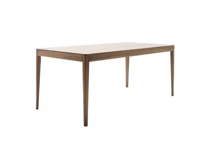 Möbel Esstisch Rundfuß Nussbaum Holztisch