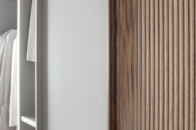 Kleiderschrank Schiebetüren Schlafzimmer Schrank geschlossener Kleiderschrank Sudbrock Miria Schlafen Schiebetüren Lack Holz