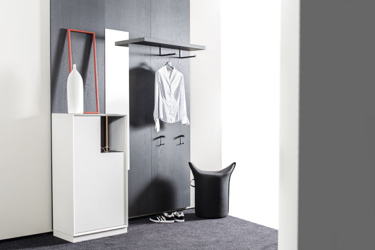 Sudbrock Garderobe Modo Flur Garderobenset Paneel Spiegelpaneel