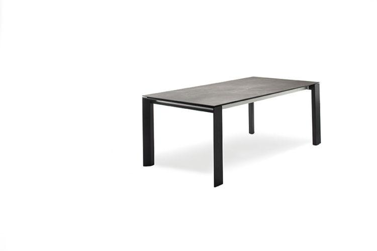Sudbrock Pondus Esstisch Tisch Esszimmer Eiche Essen ausziehbar Tischplatte Keramik massiv Massivholz