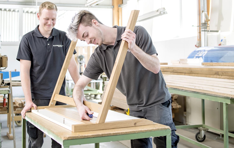 Praktikum Rietberg Tischler Sudbrock Möbelhandwerk
